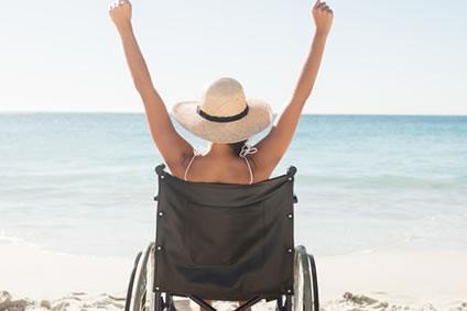 Barrierefrei mit Rollstuhl