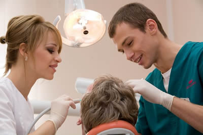 Feste Zähne an einem Tag?