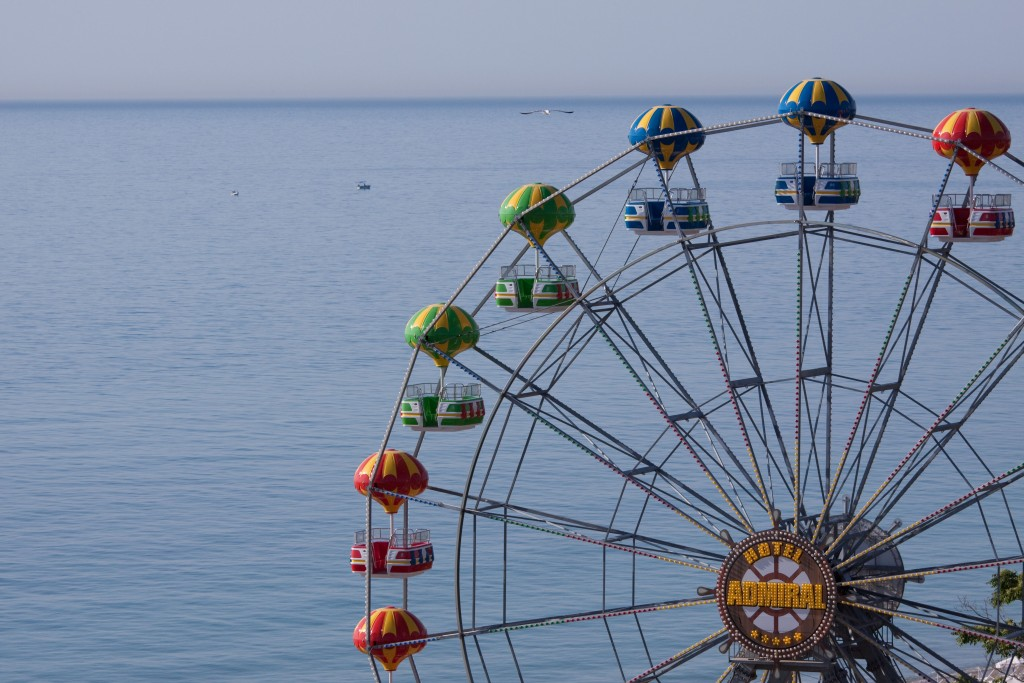 Riesenrad am Goldstrand