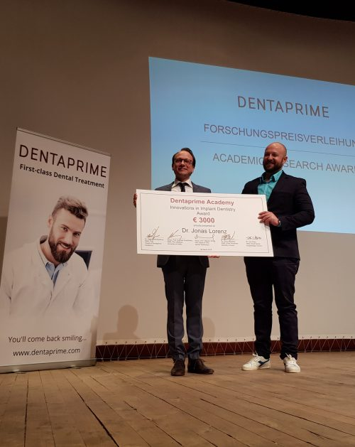 Dentaprime verleiht den Forschungspreis 2019
