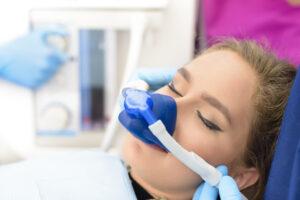 Lachgas während der Behandlung